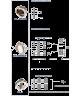 WAM V1FS200SN - Фланцевая заслонка 200мм